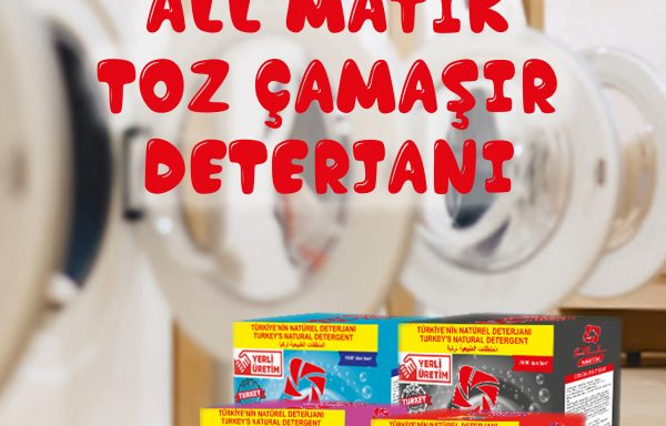 (Turkish) 10 Kg Toz Çamaşır Deterjanı