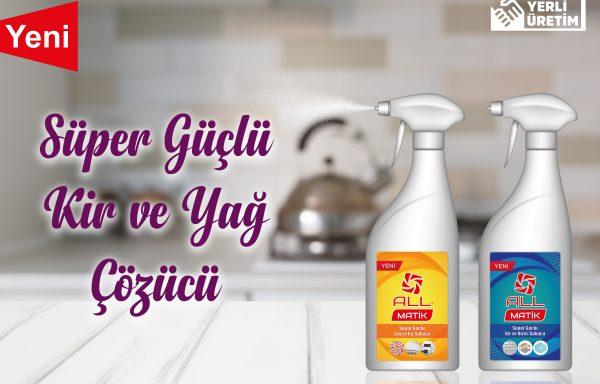 (Turkish) All Matik Kir & Yağ Çözücü