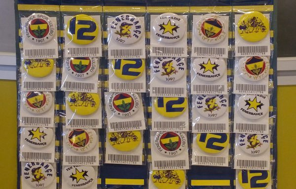 (Turkish) Fenerbahçe Broş Seti