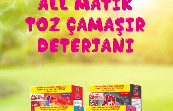 (Turkish) 3 Kg Toz Çamaşır Deterjanı